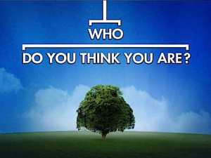 """WHO DO YOU THINK YOU ARE? -- Pictured: """"Who Do You Think You Are?"""" Logo -- NBC Photo"""