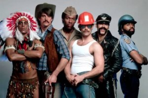 Why no just dress me as one of the fucking Village People?