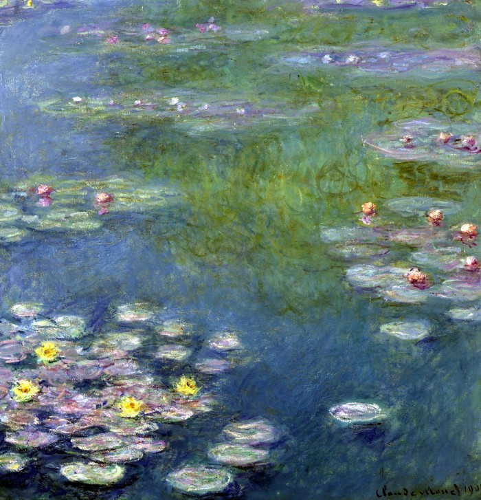 "Claude Monet's ""Nympheas"" is among the pieces to be sold at auction at Sotheby's in New York this autumn. Source: Sotheby's Holdings Inc./via Bloomberg News"